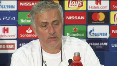 Jose: I warned players at half-time