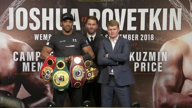 Joshua and Povetkin go head to head