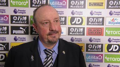 Benitez praises Newcastle spirit
