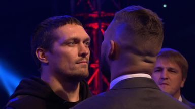 Bellew and Usyk face off