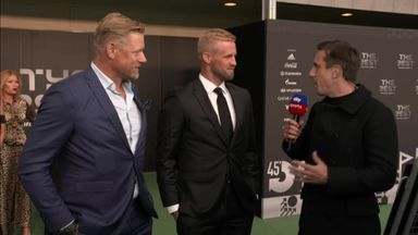 Schmeichel: Nomination was a shock