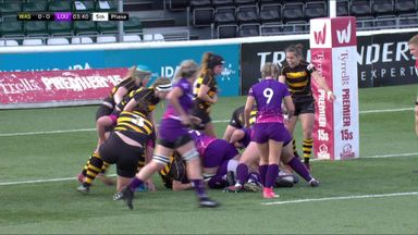 Wasps Ladies 20-40 Loughborough Lightning