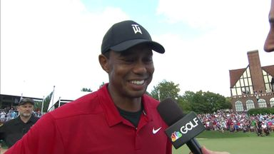Tiger: It was a grind & I loved it all