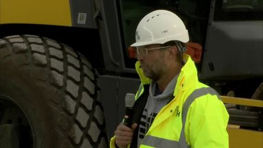 Klopp's speech to Liverpool builders!