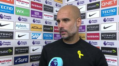 Pep pleased with City patience