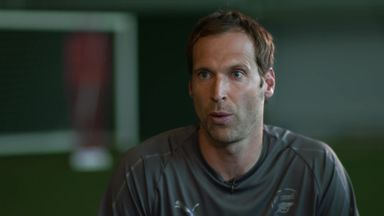 Cech: It's been a challenge