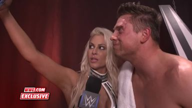 Miz & Maryse claim superiority over Bryan & Brie
