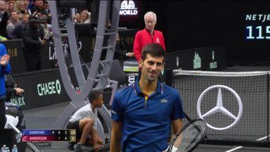 Djokovic's sublime shot