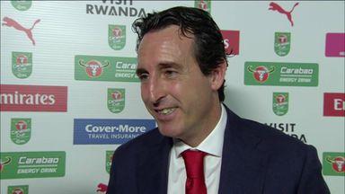 Emery dismisses Ozil-Low rumours