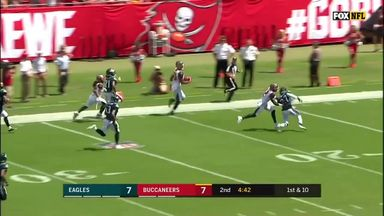 OJ Howard torches Eagles' defense for 75-yard TD