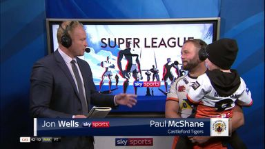 McShane joins Wells at touchscreen
