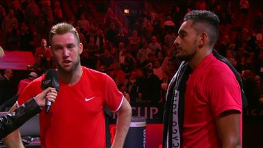 Kyrgios & Sock: Post match