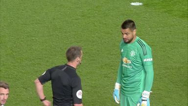 Romero shown straight red