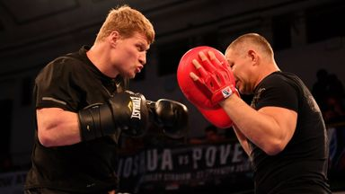 Public Workout - Povetkin