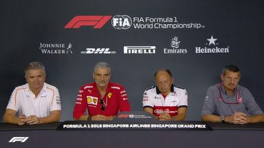 Singapore GP: Team principals' presser