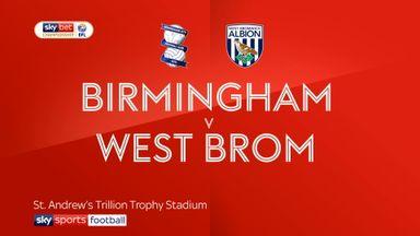 Birmingham 1-1 West Brom