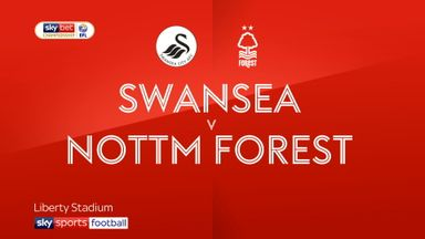 Swansea 0-0 Nott'm Forest