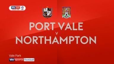 Port Vale 2-0 Northampton