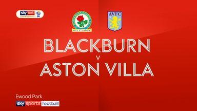 Blackburn 1-1 Aston Villa