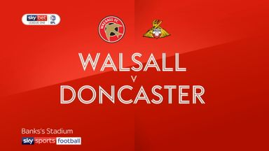 Walsall 1-4 Doncaster
