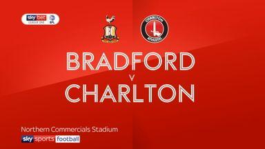 Bradford 0-2 Charlton