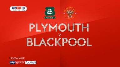 Plymouth 0-1 Blackpool
