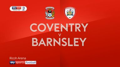 Coventry 1-0 Barnsley