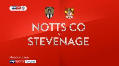 Notts County 3-3 Stevenage