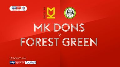 MK Dons 1-1 Forest Green