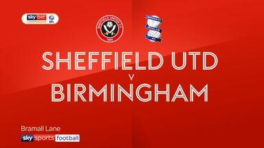Sheffield Utd 0-0 Birmingham