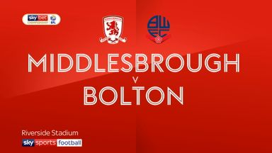 Middlesbrough 2-0 Bolton