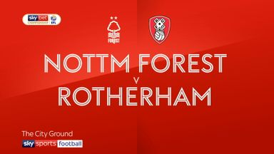 Nott'm Forest 1-0 Rotherham