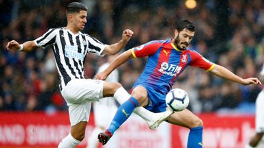 Crystal Palace 0-0 Newcastle