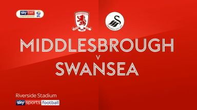 Middlesbrough 0-0 Swansea