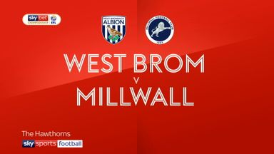 West Brom 2-0 Millwall