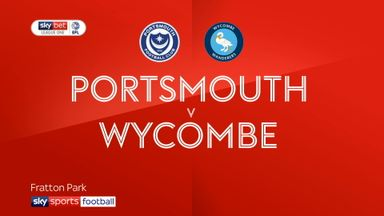 Portsmouth 2-2 Wycombe