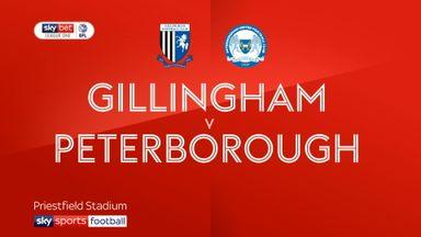 Gillingham 2-4 Peterborough