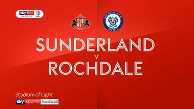 Sunderland 4-1 Rochdale