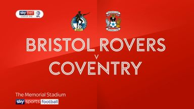 Bristol Rovers 3-1 Coventry