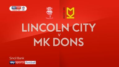 Lincoln 2-1 MK Dons