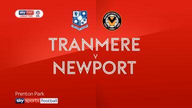 Tranmere 0-1 Newport