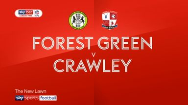 Forest Green 1-0 Crawley