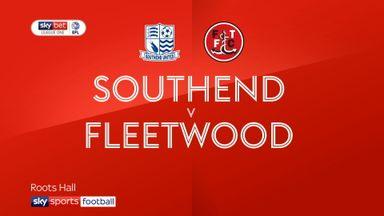 Southend 1-0 Fleetwood