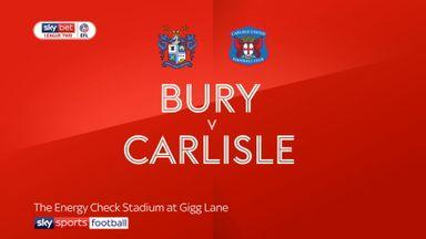 Bury 0-1 Carlisle