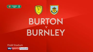 Burton 2-1 Burnley
