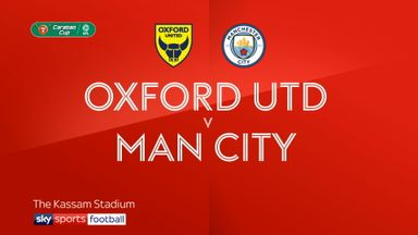 Oxford Utd 0-3 Man City