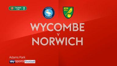 Wycombe 3-4 Norwich