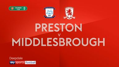 Preston 2-2 Middlesbrough (3-4 pens)