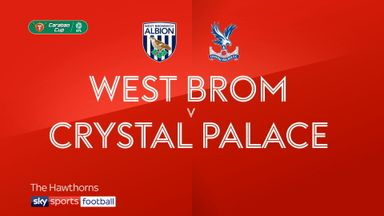 West Brom 0-3 Crystal Palace