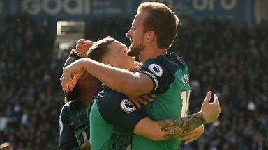 Huddersfield 0-2 Tottenham